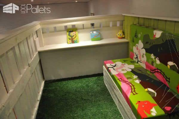 Pallet Kids House Project Kids Projects With Pallets