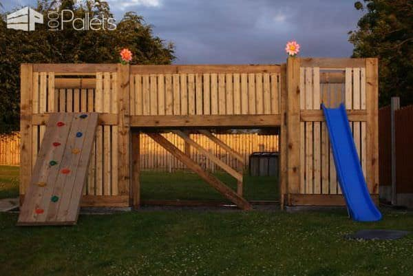 Pallets Playhouse Kids Projects With Pallets Pallet Huts, Cabins & Playhouses