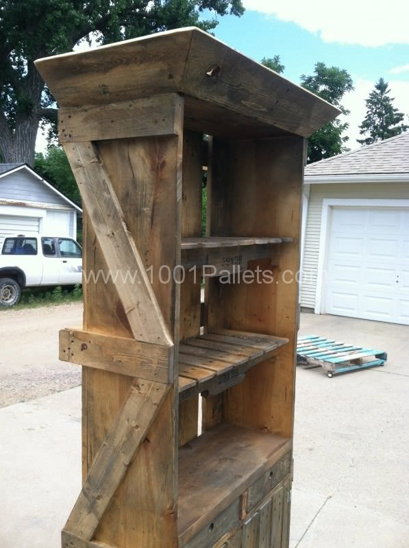 Pallet Hutch Home Decorations Pallet Projects Pallet Furniture