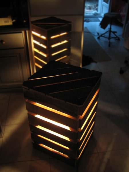 Mobilier Palette Design / Design Pallet Furniture & Lamp Pallet Furniture Pallet Lights & Lamps