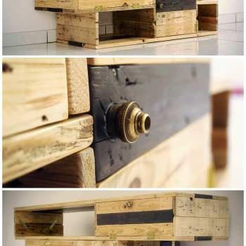 Meuble TV Design / Design TV Stand From Pallets Wood