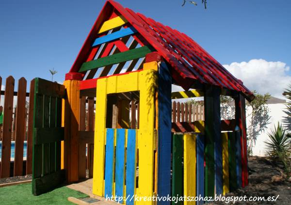 Pallet Kids House Kids Projects With Pallets Pallet Huts, Cabins & Playhouses