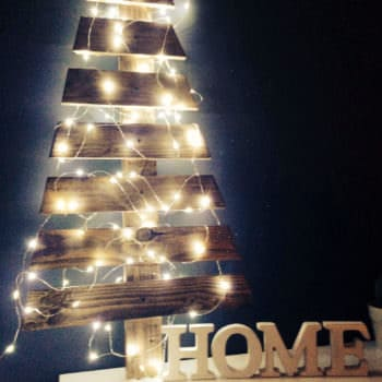 My Home Christmas Tree Made With Pallet